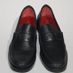 Salvatore Ferragamo Sport Loafers Black sz 10 2A